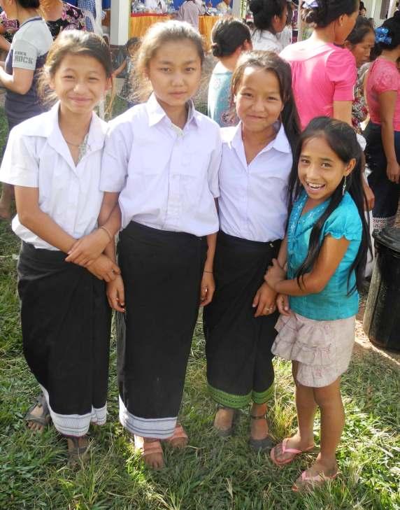 Mädchen aus Laos