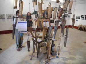 Ausstellung selbstgemachter Protesen